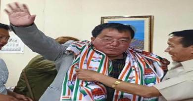 Arunachal: Engineer Tai Nikio turned politician, joins congress
