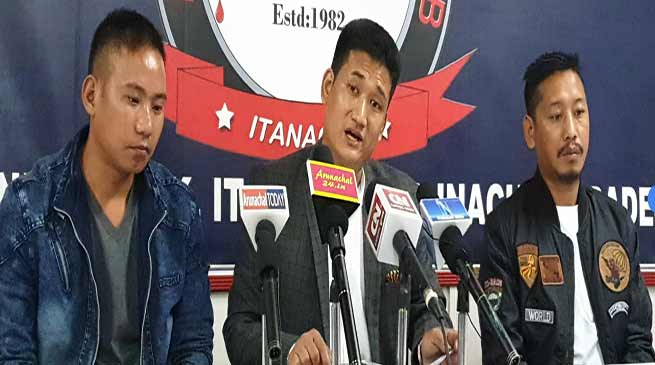 Arunachal: Biki Tayo denies involvement in the vandalising of Likha Saaya's resident