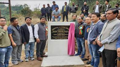Photo of Arunachal:Techi Kaso inaugurates Cremation cum Burial ground