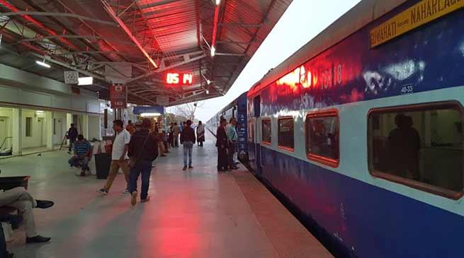 Assam: Guwahati Naharlagun bound Donyi Polo express