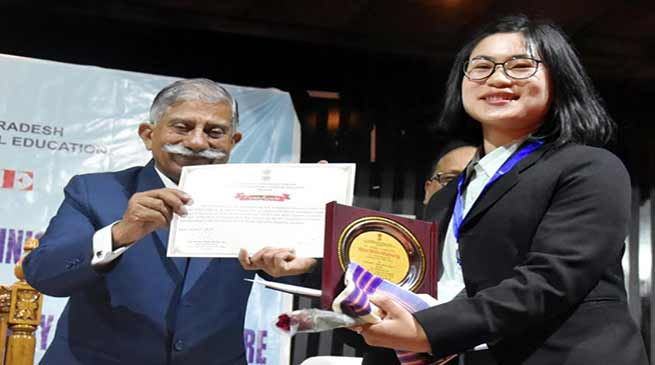 Education is the foundation for a strong and vibrant nation- Arunachal Governor