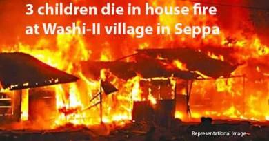 Arunachal: 3 children die in house fire at Washi-II village in Seppa