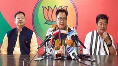Photo of Arunachal: Kiren Rijiju condemn poll related violence