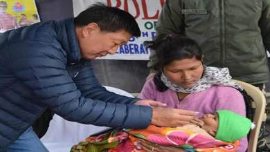 Photo of Arunachal: 115 polio booths in Tawang  active in giving pulse polio oral drops