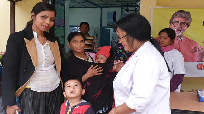 Puls Polio drive day-1: 77801 children vaccinated in Arunachal Pradesh