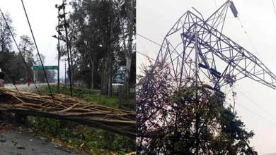 Photo of Arunachal: Power outages due to rainstorm, Lohit, Tezu are in dark