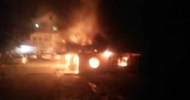 Itanagar: Six houses gutted in fire in Pappu Nallah