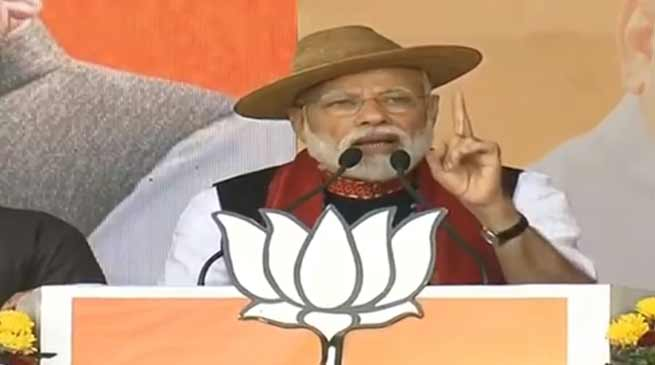 Arunachal Elections: PM Modi's Rally in Pasighat - LIVE UPDATE