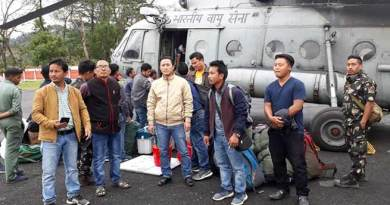 Arunachal: Polling personnel's and materials airlifted to Vijayanagar
