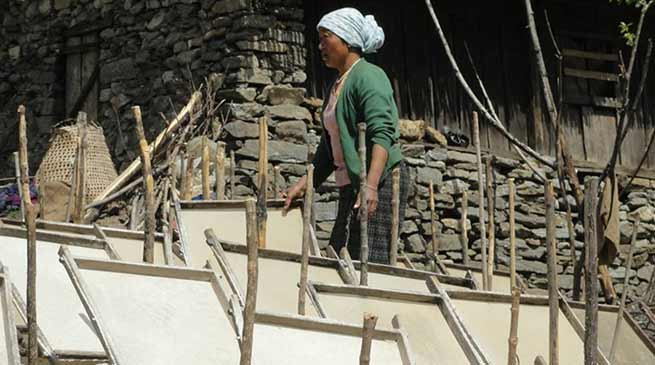 Arunachal: Monpa tribe are known for art of handmade paper