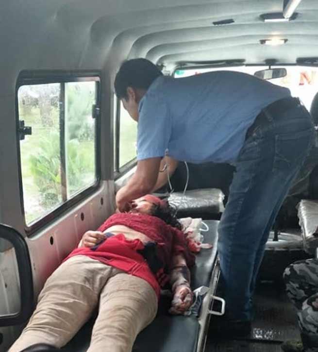 Arunachal:One died, four critically injured in road mishap near Khonsa