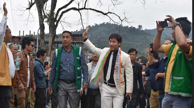 Arunachal Polls: NPP is a national party but thinking and working for region- Khyoda Apik