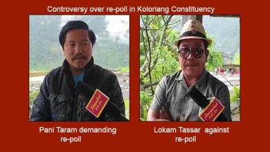 Photo of Arunachal: Controversy over re-poll in Koloriang Constituency
