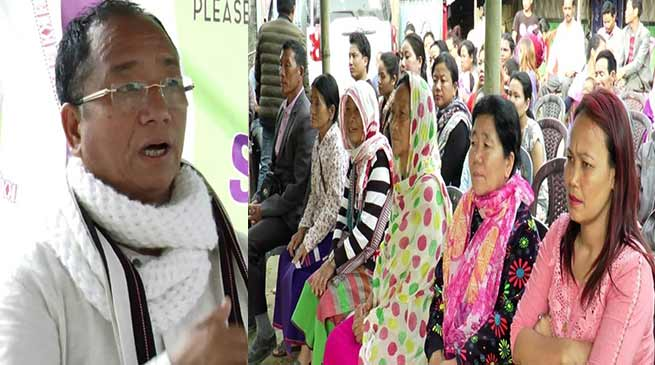 Itanagar:  Kaso reiterated his commitment  to work for development of capital complex