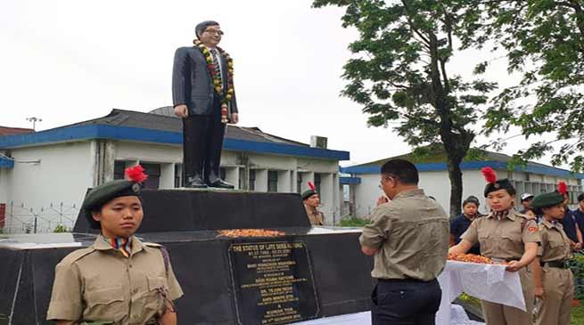 Itanagar: 18th Death Anniversary of Dera Natung observed