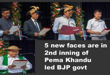 Photo of Arunachal: 5 new faces are in 2nd inning of Pema Khandu led BJP govt.
