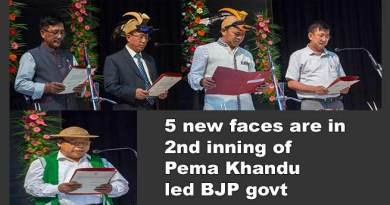 Arunachal: 5 new faces are in 2nd inning of Pema Khandu led BJP govt.
