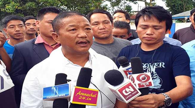 Itanagar: People wants developments- Bamang Felix