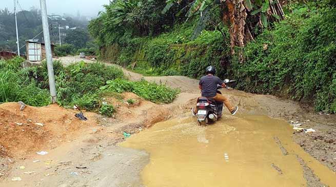 Itanagar: Collapsing culvert in ESS sector poses threat