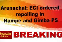 Arunachal: ECI ordered repolling in Nampe and Gimba PS