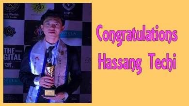 Photo of Hassang Techi bags the title of Mr Arunchal Pradesh International 2019