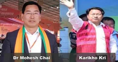 Arunachal: BJP surprise on Dr Mohesh Chai's defeat from Tezu seat