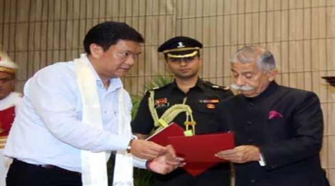 Arunachal: Ahead of forming new govt., CM Pema Khandu submits resignation