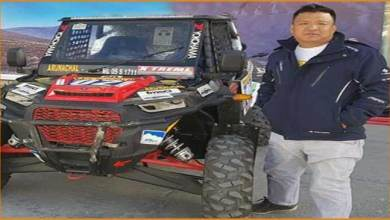 Lahkpa Tsering lead Team Arunachal in Desert Storm Rally