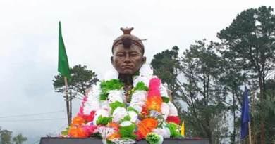 Itanagar: Statue of Risso Tari unveiled near Tennis court