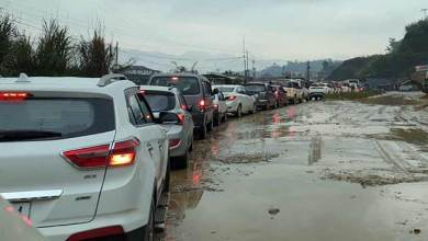 Photo of Arunachal: Pathetic road condition created massive traffic jam
