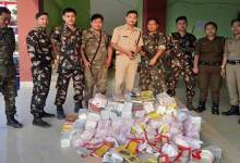 Itanagar: City police conducted raids, seized Cash, housie & Gambling materials