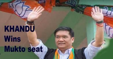 Arunachal : CM Pema Khandu wins Mukto seat