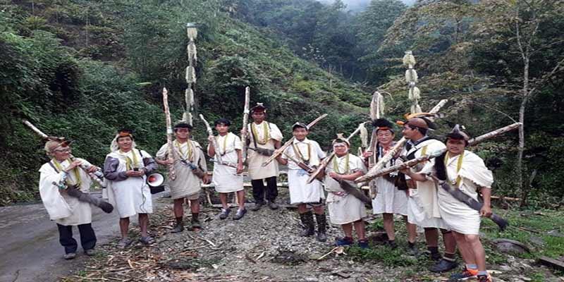 Arunachal: longte festival celebrated at Nyapin