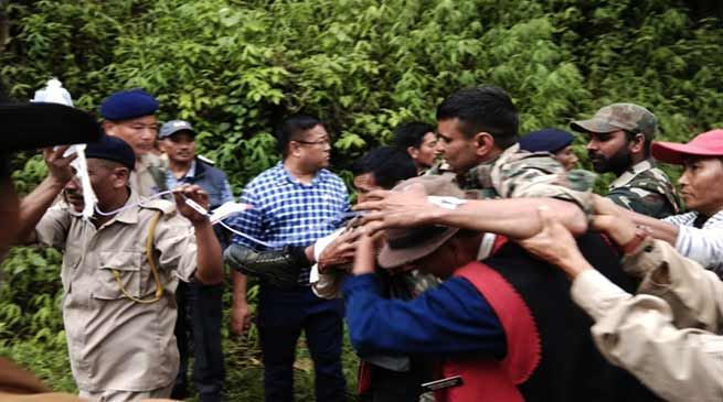 Nagaland- 2 Assam Rifle jawan killed, 3 injured in an ambush with militants