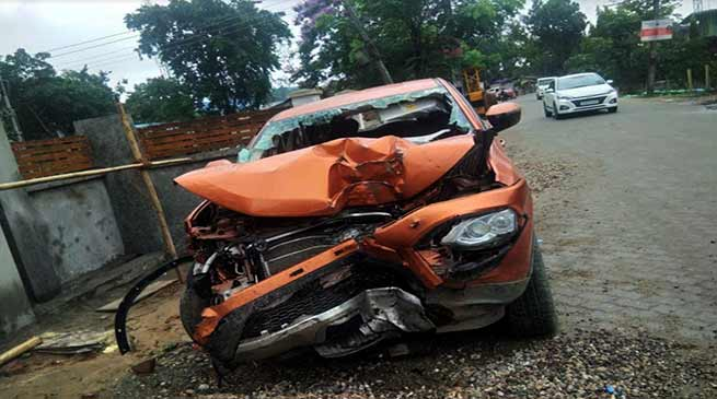 Itanagar: Young businessmen Lowang Damdul died in tragic road accident