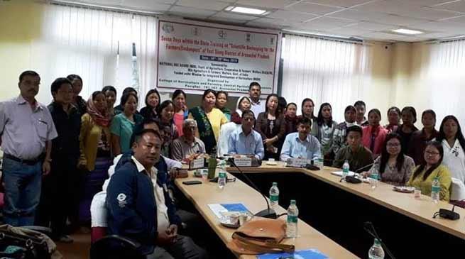 Arunachal: Scientific Beekeeping training programme inaugurated at CHF, Pasighat