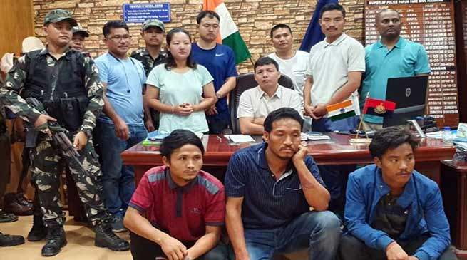 Arunachal: 3 Arrested for Arson in front of BJP MP Tapir Gao's Residence