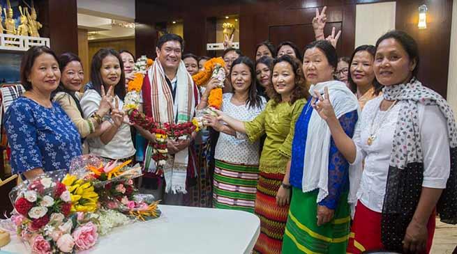 Arunachal: women cadre are the main pillar of strength of the BJP party- Pema Khandu