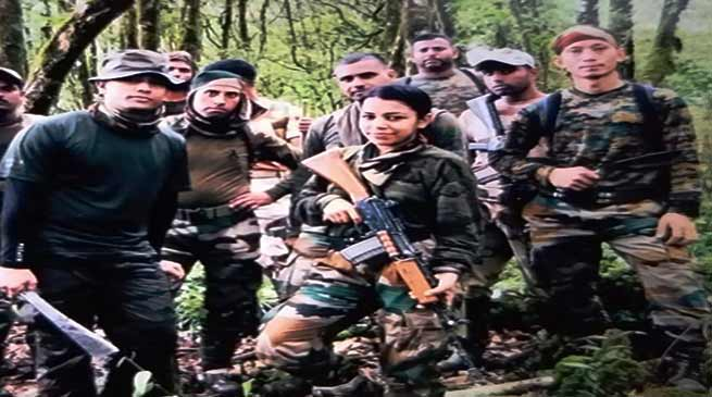 Woman Officer of Indian Army Capt Kalpana Kundu Partakes in a High Altitude Patrol in Arunachal