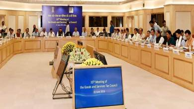 Photo of Dy CM Chowna Mein attends 35th GST Council Meeting in New Delhi