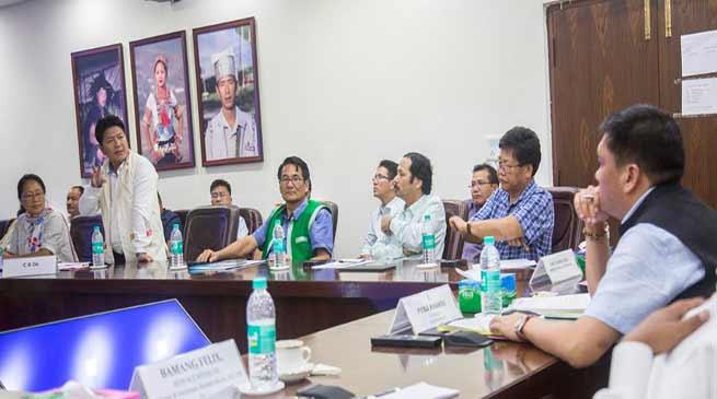 Arunachal: Khandu hold first pre-budget consultative meeting