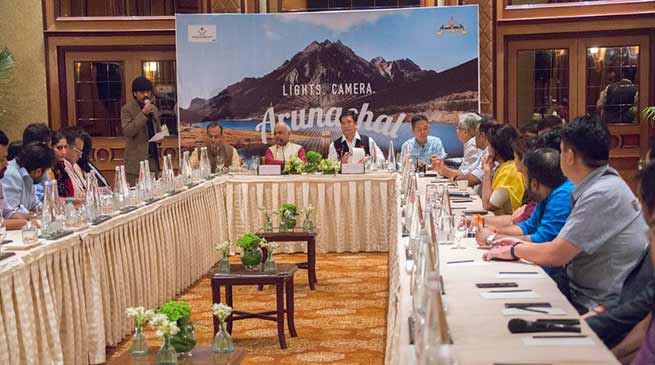 Arunachal has everything to offer for film making- Pema Khandu