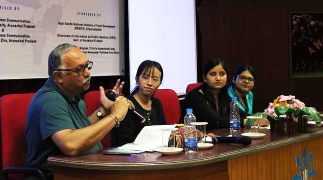 Two day National Seminar by RGU & SCCZ on Media Representation of NE India Concludes