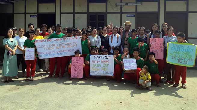Arunachal: OWA celebrates World Day Against Child Labour