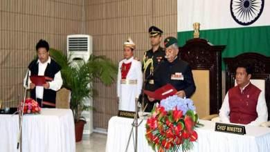 Arunachal Pradesh: Phosum Khimhun sworn-in as Pro-tem Speaker