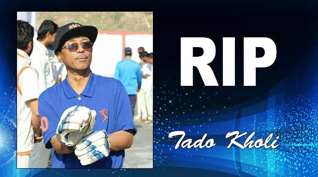 ACA Hony Secretary Tado Kholi passes away, Tuki condoles demise