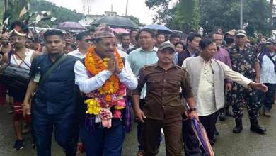 Photo of Arunchal: Tesam Pongte assured to work for the people of state