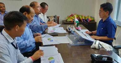 Arunachal: Wangki Lowang urged department officials to focus and work hard
