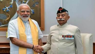 Photo of Arunachal Governor calls on the Prime Minister Narendra Modi