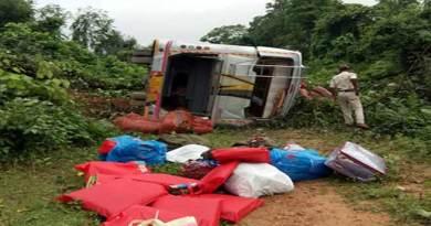 Arunachal: 9 injured in Dimapur-Pasighat bus accident near Banderdewa